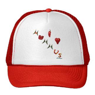 I corazón Hummus Gorros