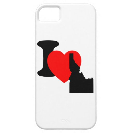 I corazón Idaho iPhone 5 Case-Mate Carcasa