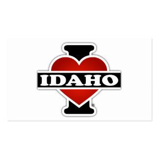 I corazón Idaho Tarjetas De Visita