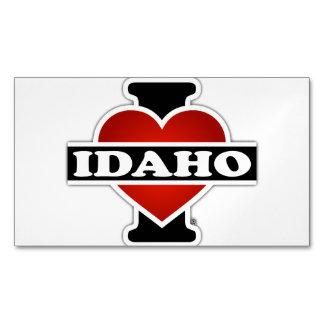 I corazón Idaho Tarjetas De Visita Magnéticas (paquete De 25)