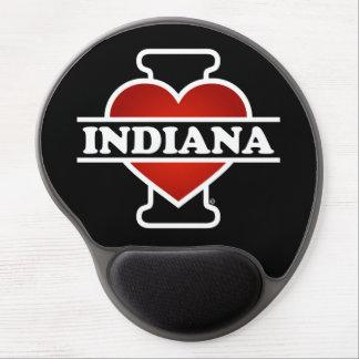 I corazón Indiana Alfombrillas De Raton Con Gel