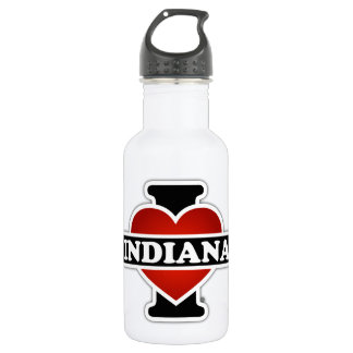 I corazón Indiana Botella De Agua De Acero Inoxidable