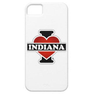 I corazón Indiana iPhone 5 Carcasas