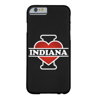 I corazón Indiana Funda Para iPhone 6 Barely There