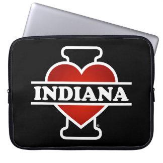I corazón Indiana Fundas Portátiles