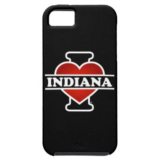 I corazón Indiana iPhone 5 Fundas