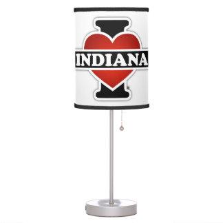 I corazón Indiana Lámpara De Mesilla De Noche