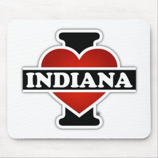 I corazón Indiana Tapete De Ratón
