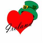 I corazón Irlanda Escultura Fotografica