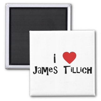 I corazón James Tillich Imán Cuadrado