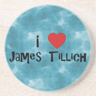 I corazón James Tillich Posavasos Para Bebidas