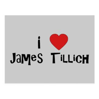 I corazón James Tillich Tarjetas Postales