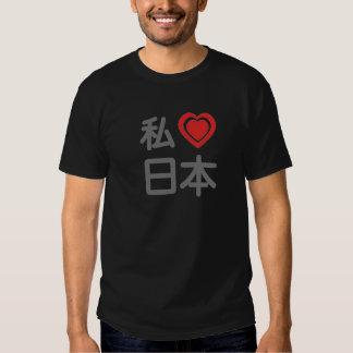 I corazón Japón Poleras