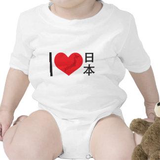 I corazón Japón Trajes De Bebé