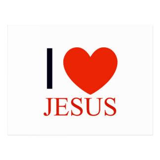 I corazón Jesús Postal