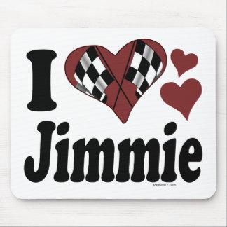 I corazón Jimmie Alfombrillas De Raton