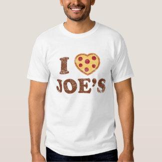 I corazón Joe Playeras