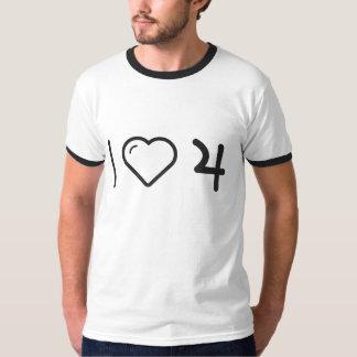 I corazón Jupiters Camisas