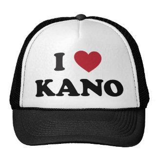 I corazón Kano Nigeria Gorras
