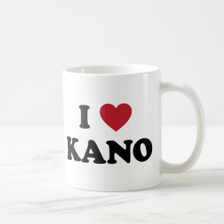 I corazón Kano Nigeria Taza