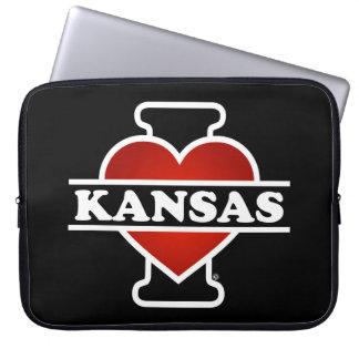I corazón Kansas Fundas Ordendadores