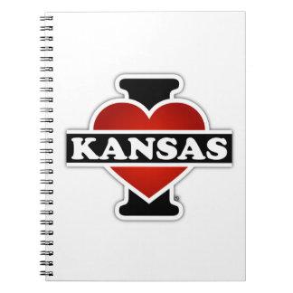 I corazón Kansas Libros De Apuntes