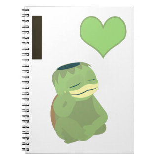 I corazón Kappa Cuaderno