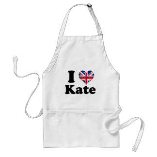 I corazón Kate Delantales