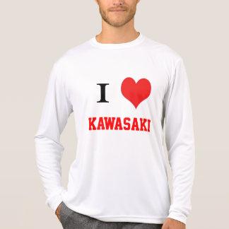 i corazón Kawasaki Camisetas