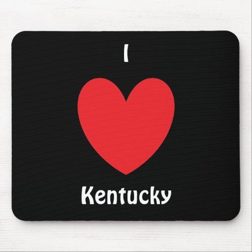I corazón Kentucky Mousepad