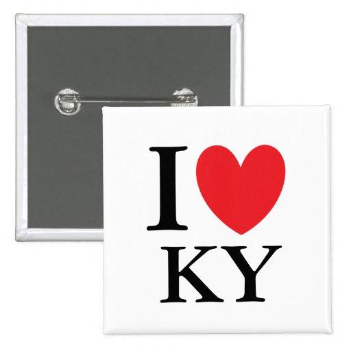 I corazón Kentucky Pin