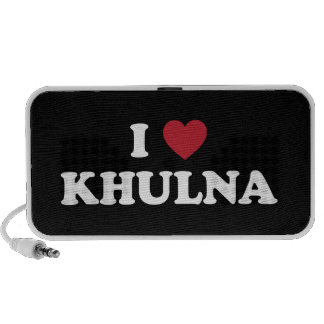 I corazón Khulna Bangladesh Mini Altavoces
