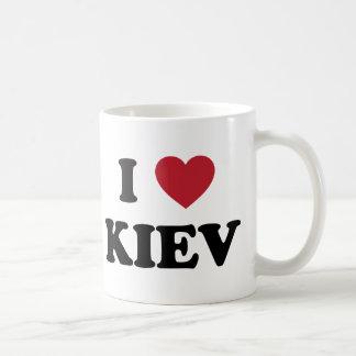 I corazón Kiev Ucrania Tazas De Café