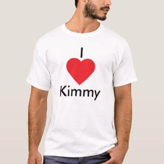 I corazón Kimmy Playera