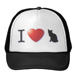 ¡I corazón Kittycats! Gorros