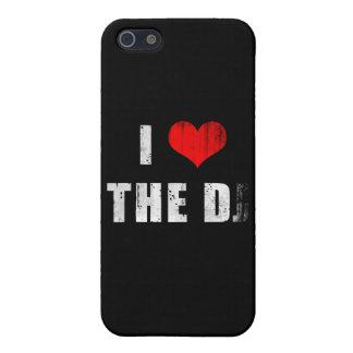 ¿I corazón la D… J? iPhone 5 Carcasa