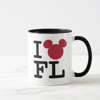 I corazón la Florida Taza