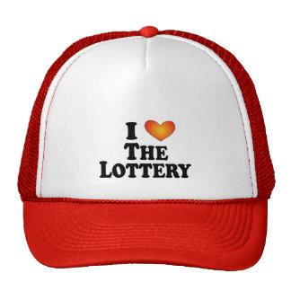 I corazón la lotería - Multi-Productos de Lite Gorros
