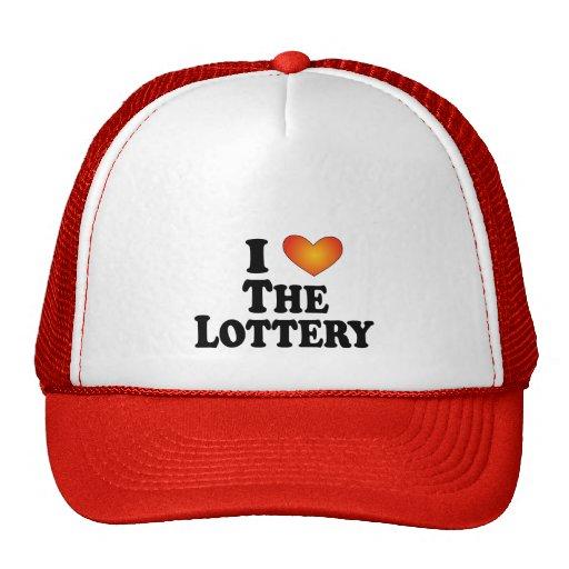 I (corazón) la lotería - Multi-Productos de Lite Gorra
