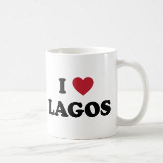 I corazón Lagos Nigeria Tazas