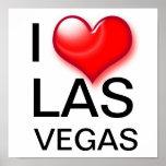I corazón Las Vegas Posters