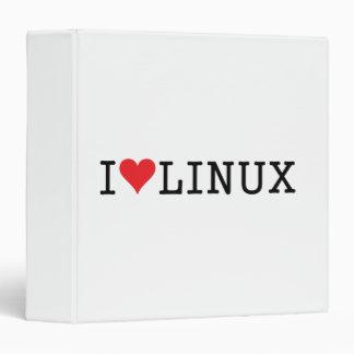 """I corazón Linux 2 Carpeta 1 1/2"""""""