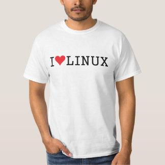 I corazón Linux 2 Poleras