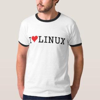 I corazón Linux 2 Remera