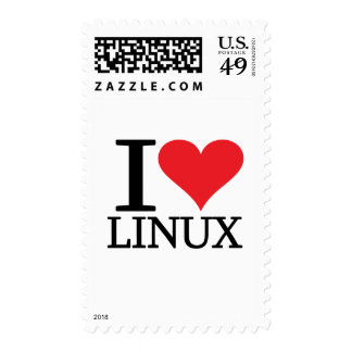 I corazón Linux Franqueo