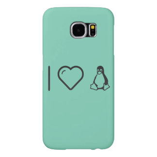 I corazón Linuxs Fundas Samsung Galaxy S6