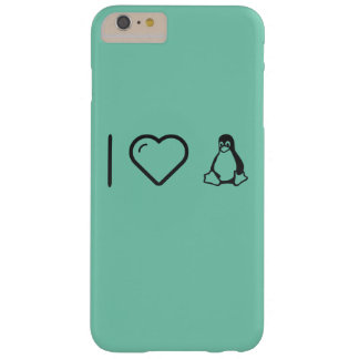 I corazón Linuxs Funda Para iPhone 6 Plus Barely There