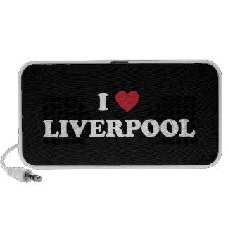I corazón Liverpool Inglaterra Mp3 Altavoz