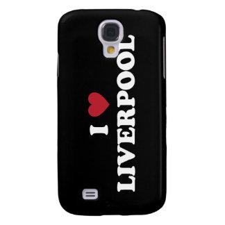 I corazón Liverpool Inglaterra Funda Samsung S4