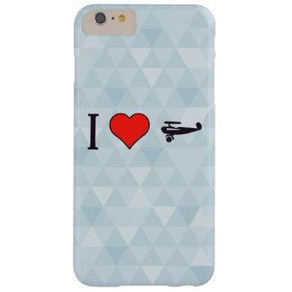I corazón los hermanos de Wright Funda Para iPhone 6 Plus Barely There
